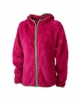 Highloft Fleece Jacke mit Struktur